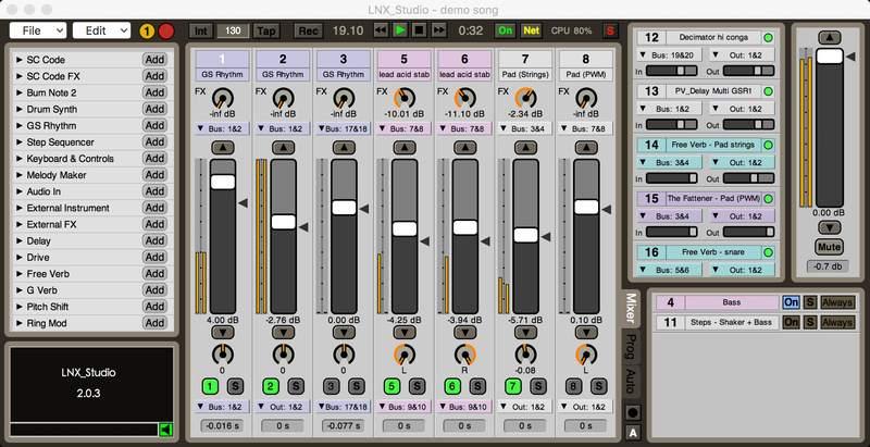 LNX_Studio v2.0 for Mac -
