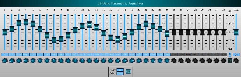 Aqualizer - Equalization