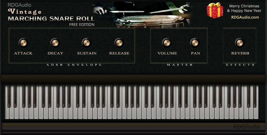RDGAudio - Vintage Marching Snare Roll