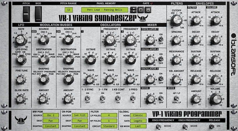 Blamsoft - VK-1 Viking Synthesizer