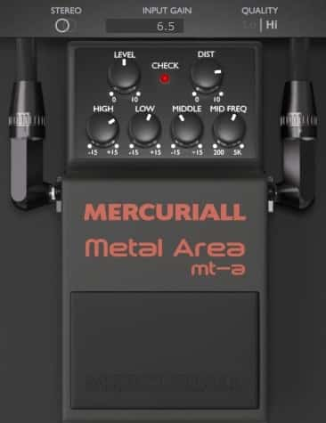 Mercuriall - Metal Area MT-A