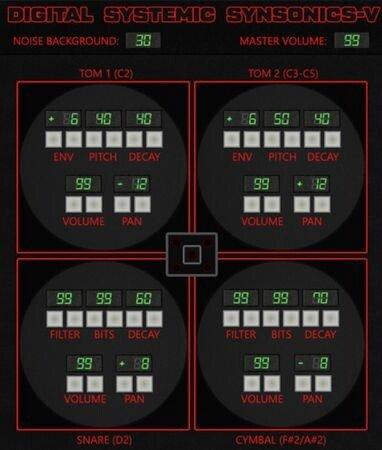 Digital Systemic Emulations - Synsonics-V