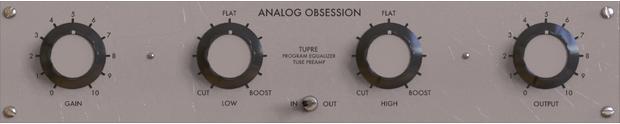 Analog Obsession - TuPRE
